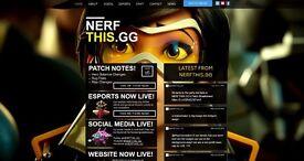 Website, Social Media and Logo Design