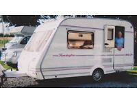 Compass Kensington Limited Edition Touring Caravan in excellent condition