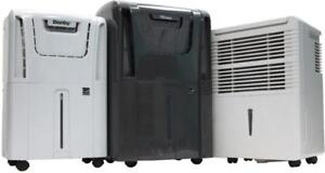 DANBY DEHUMIDIFIER CLEARANCE --- ALL SIZES -- ALL MODELS -- ONE AMAZING PRICE ONLY $99.95