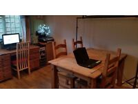 Home office / desk spaces available for hire during the day