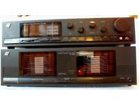 SANSUI C1000 & B1000 Pre and Power Amplifiers