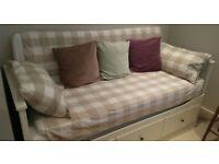 Day-bed White HEMNES Ikea
