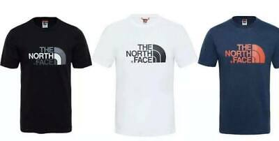 The North Face Men's Crew Neck Short Sleeve Cotton T Shirt Small to Extra Large