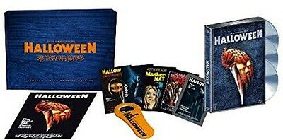 Halloween Mediabook - Limited 3-Disc-Holzbox BLU RAY + DVD + CD UNCUT NEU+OVP - Halloween Blu Ray Media Book