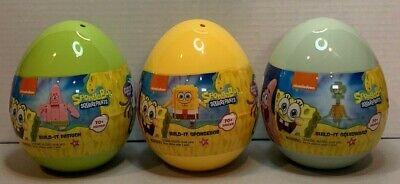 SpongeBob SquarePants Build It Sets 70 pcs LOT SpongeBob/Squidward/Patrick NEW