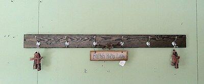 48 Wall Coat Rack (Wall Coat Rack Wood Hanging Coat Rail 48