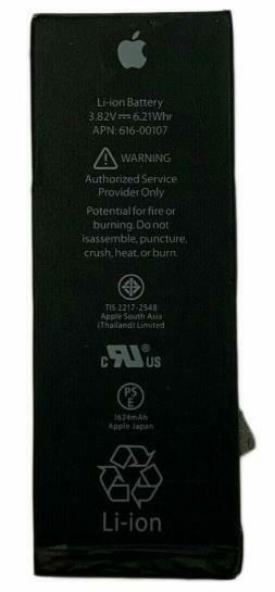 OEM Original Genuine Apple 1624mAh Battery Replacement for Apple iPhone SE