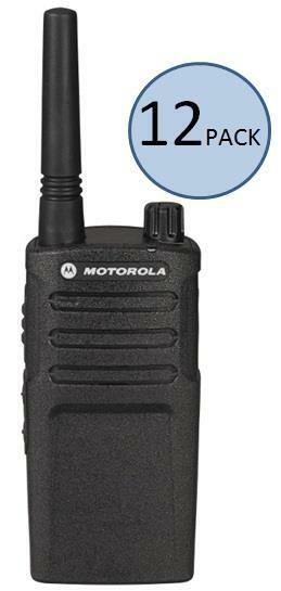 12 Motorola RMM2050 Two Way Radio Walkie Talkies + 2 Free Radios via Rebate!