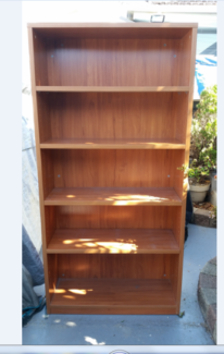 1 HAVE DUTY BOOKCASE WITH  SHELVES Sunshine Brimbank Area Preview