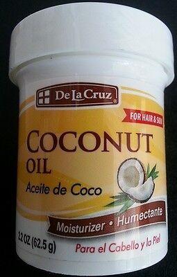 La Cruz Coconut Oil For Hair And Skin Aceite De Coco Para Cuerpo  Y Pelo 2 2 Oz