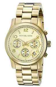Michael Kors Gold Tone Womens Watch *NEW*