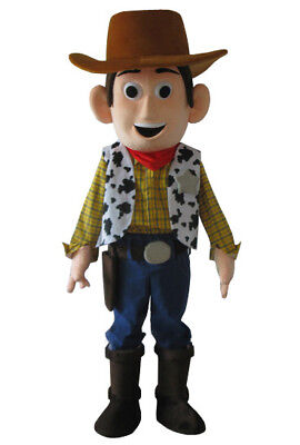 Toy Story Costume For Adults (Toy story woody Costume mascot Cartoon adult costume For Halloween &)