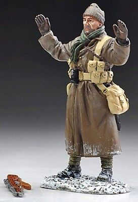 THOMAS GUNN WW1 BRITISH GW037B TOMMY SURRENDERING WINTER MIB