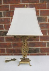 Iron Table Lamp dating to the 1920's