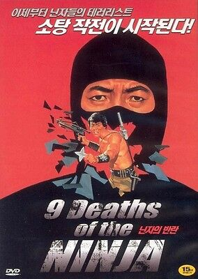 9 deaths of the Ninja (1985) DVD - Emmett Alston (New & Sealed)