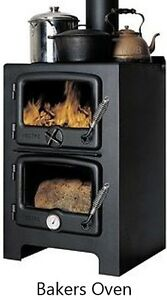 Bakers Oven Wood Cook Stoves - *12% Off