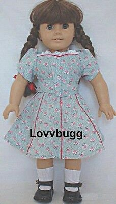 Molly Forties 1940s Victory Garden Dress for American Girl 18 inch Doll Clothes