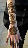 Henna Tattoo for Parties in Halifax.