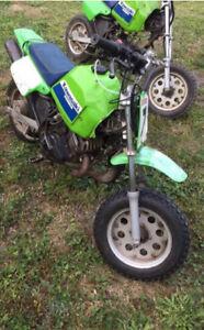 1989 Kawasaki KD80x (WITH PARTS BIKE)