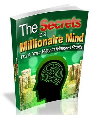 Secrets to a Millionaire Mind + 10 Free eBooks With Resell rights ( PDF )