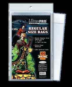 Ultra Pro COMIC .... BAGS .... package of 100