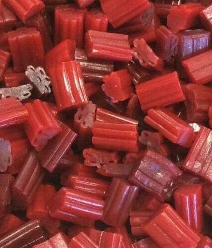 TWIZZLERS Bites Cherry Flavored Licorice Candy - BULK CANDY- 1 POUND CANDY