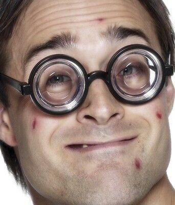 Nerd Geek Marmeladenglas Kostüm Brille Gesprenkelt (Glas Marmelade Kostüm)
