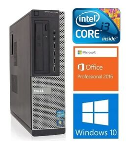 Dell Optiplex 790: i3-2120: 3.3GHZ, 4GB RAM, HD 500GB, WIFI:155$