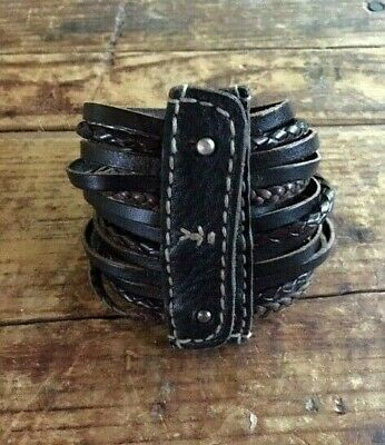 HENRY BEGUELIN / Cuir Leather Bracelet