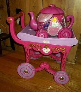 Disney Princess Tea Cart + Disney Princess Tea Pot Dish Set London Ontario image 1