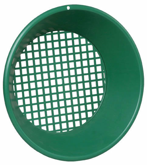 "Garrett 14"" Sifter/Classifier - Fits 5 Gallon Bucket - 7/16"" Holes"