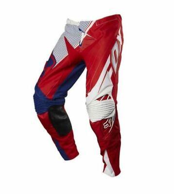Fox 360 MXoN Flight MX Motocross Off Road ATV Pants Red White Blue Mens -