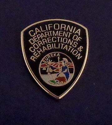 California Department of Corrections & Rehabilition PATCH LAPEL PIN CDCR police