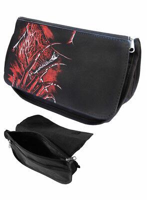 Darkside Cosmetic Bag Freddy Krueger Zip Up Makeup Purse Horror Nightmare on Elm