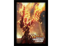 Magic the Gathering MTG 80 Count GP New Jersey 2014 Brainstorm Sleeves
