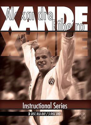 SALE! Alexandre Xande Ribeiro Jiu Jitsu BJJ Instructional Video 2 Disc Blu-Ray