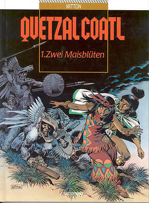 6 HC-Alben Quetzalcoatl Nr. 1 - 6 von Mitton in Topzustand !!!