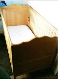 Cot Bed by Mamas and Papas