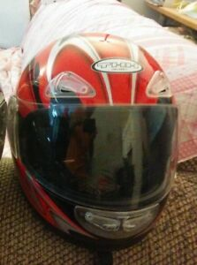 LIKE NEW motorcycle helmet