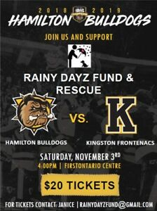 Bulldogs Tickets Charity Fundraiser