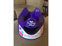 Pourty unisex purple potty - VGC