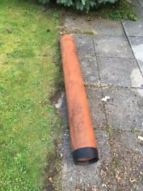 FREE! Hepduct Clay Building Pipes 4 ft long x 2 Coulsdon Surrey Croydon