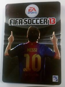 Fifa 13 Limited Edition steel Messi Cover