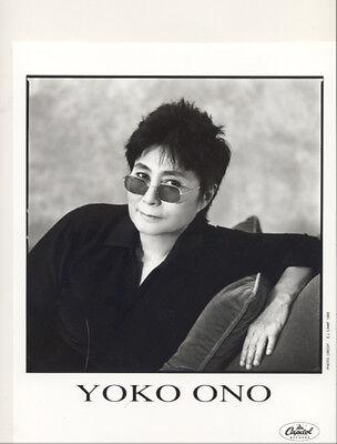 YOKO ONO - Rising PRESS KIT + 2 PHOTOS