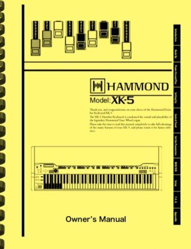 HAMMOND XK-5 XK5 Organ OWNER