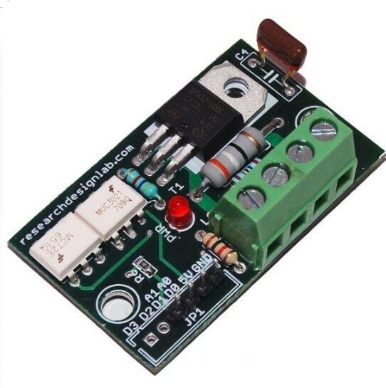 Analog SSR 230V Dimmer Module bulb or fan opto-couplers12 Amp