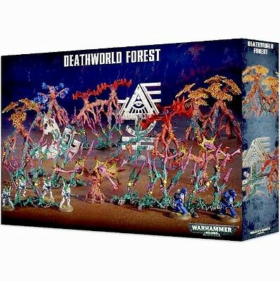 DEATHWORLD FOREST NEW BIG TERRAIN BOX! ELDAR Games Workshop Warhammer 40K 40,000