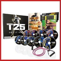◄ FOCUS T25 FITNESS WORKOUT DVDs w/ RESISTANCE BANDS +$20GIFT ►