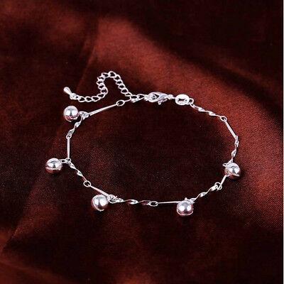 925 Silber FUßKETTE Fußkettchen Armkette  104A