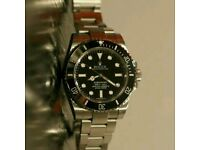 Rolex Submariner No Date in Silver + Box, Papers